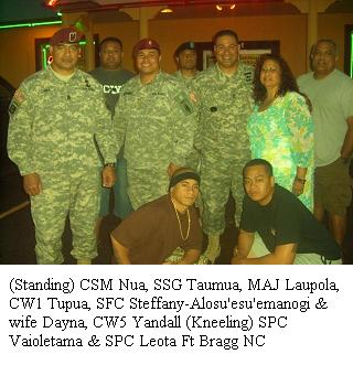 sfc steffany alosu esu emanogi has been a strong supporter of samoans ...